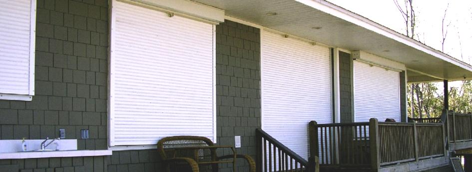 Hurricane Shutters Homestead Fl Accordion Roll Panels